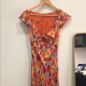 Ralph Lauren vintage silk dress
